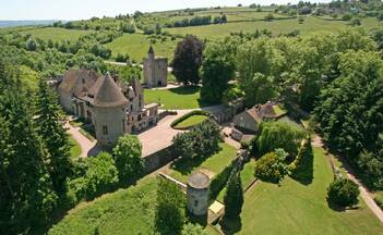 Château de Couches near Beaune in Burgundy