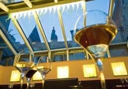 Wine Bar in Beaune Bourgogne France