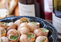 Burgundy Snails & Wine