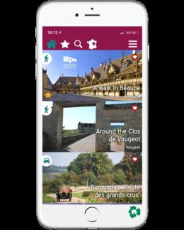 App Walks in Burgundy Beaune
