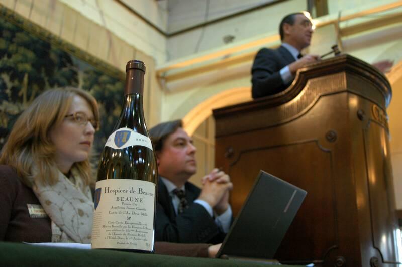 Hospices de Beaune Wine Auction © Hendrick Monnier