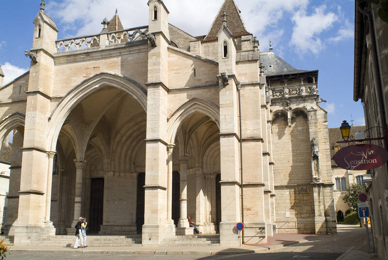 The Collegiate Basilica of Notre Dame in Beaune