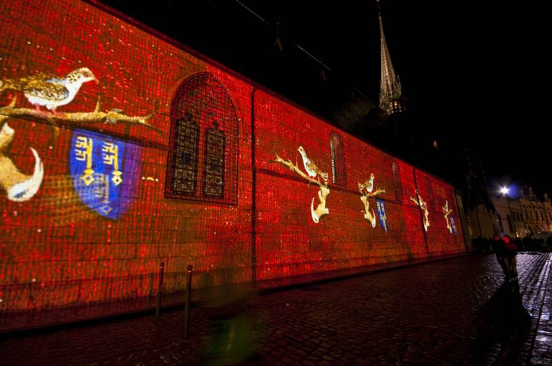 Beaune's trail of light - Hôtel-Dieu © Mairie de Beaune