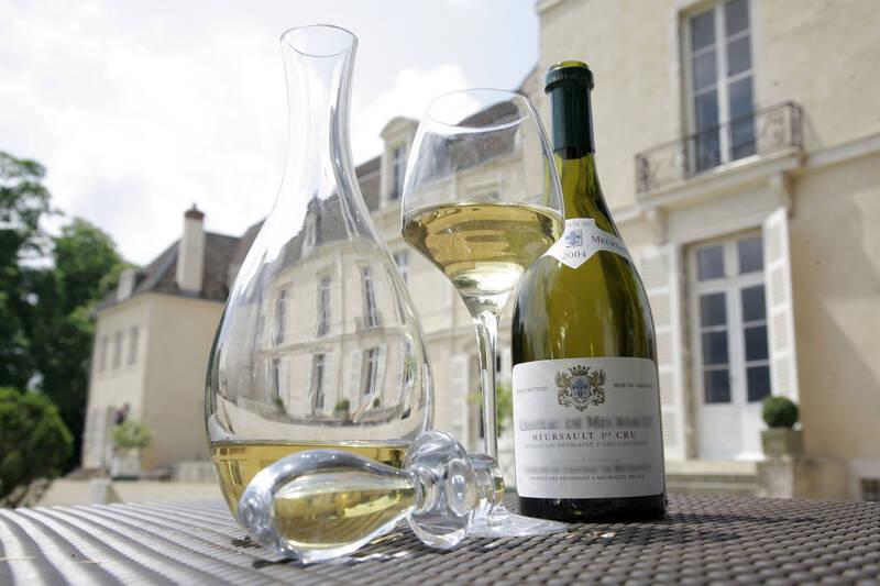 Burgundy wine © Château de Meursault