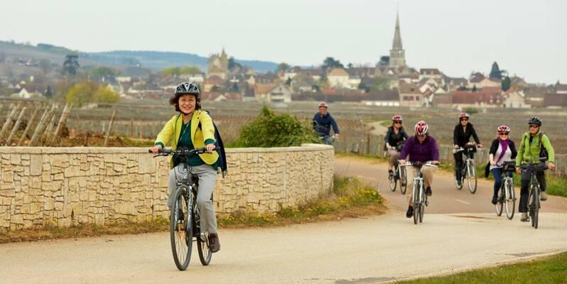 """""""Voie des Vignes"""" cycle route ©StudioPiffaut"""
