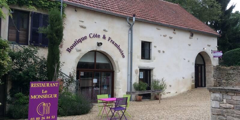 façade du  restaurant le Montsegur Beaune Tourisme © Le Montségur