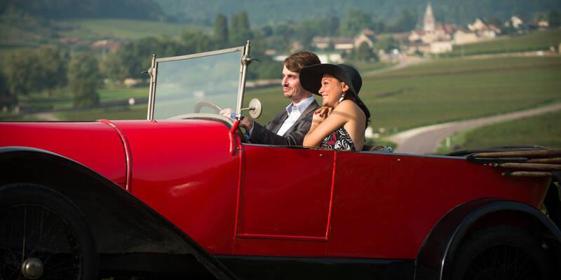 Bugatti in the vineyards