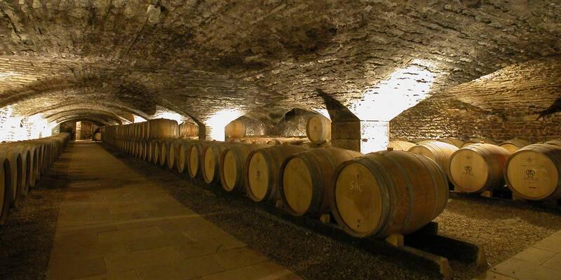 Cellar - Château de Chassagne-Montrachet © Château de Chassagne-Montrachet