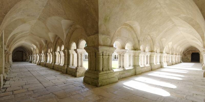 Fontenay Abbey_Cloister ©Fréderic Dupin