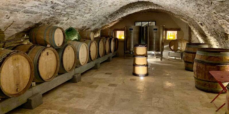 Micro-Winery Coudurier-Jung in Beaune - Burgundy