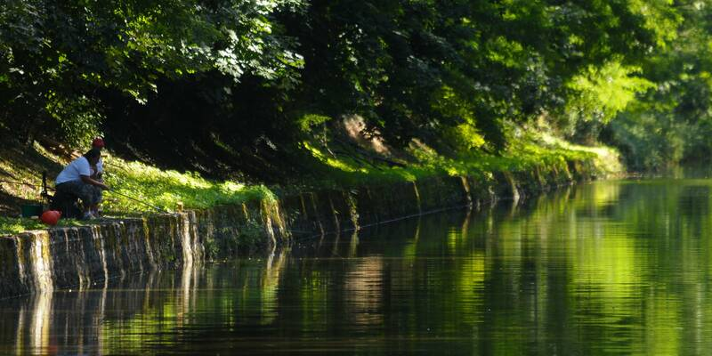 Canal du centre-Fishing ©StudioPiffaut