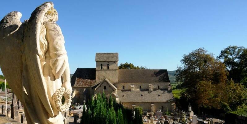"""Church """"Saint Jean de Narosse"""""""