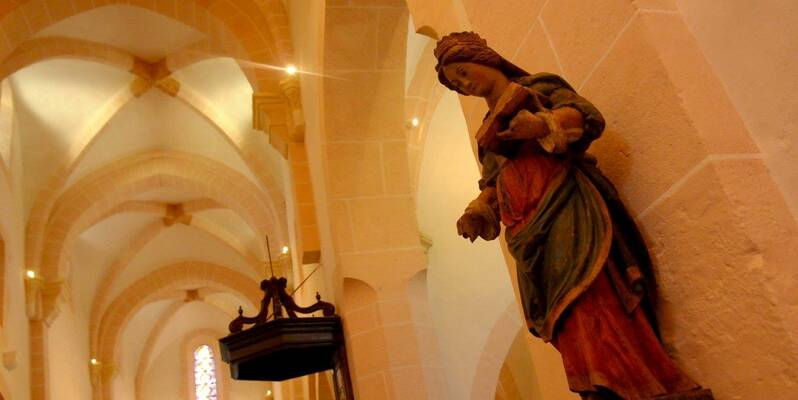 "Church ""Saint Jean de Narosse"" - Statue"