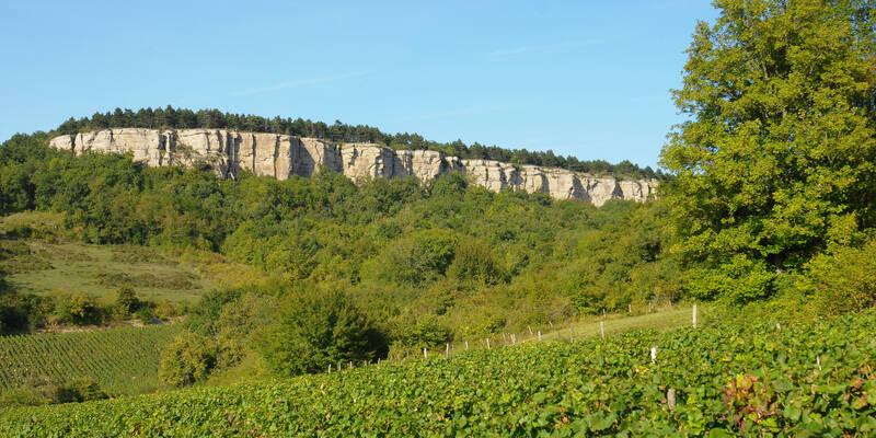 Vauchignon cliffs