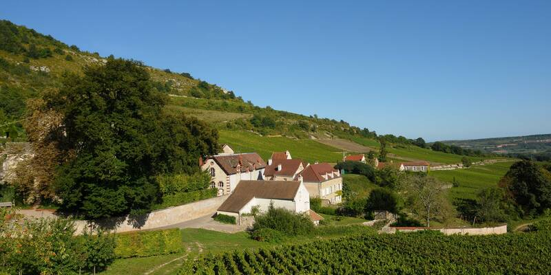 Le village de Santenay le Haut © Beaune Tourisme