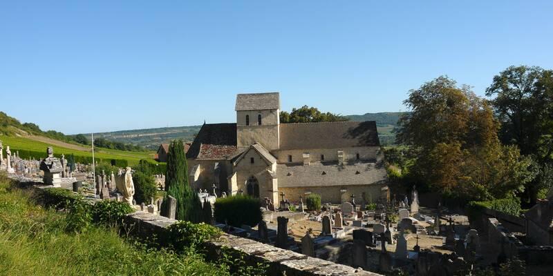 l'église Saint-Jean-de-Narosse © Beaune Tourisme