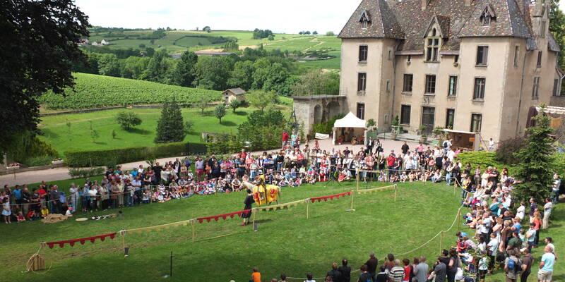 Medieval Festival © Château de Couches