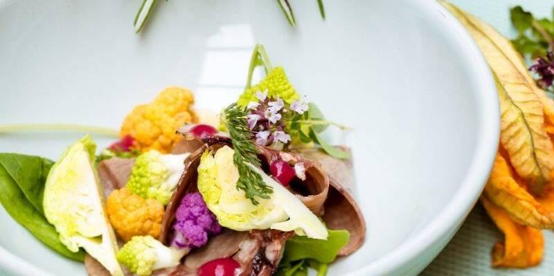 un plat préparé par la chef des pôpiettes © Didier Protin