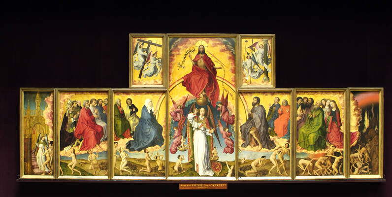 Polyptych of the Last Judgement  ©F.Vauban