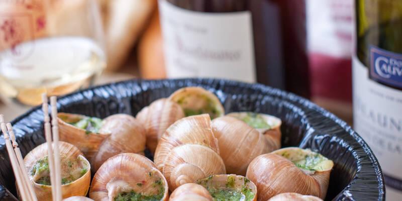 Snails Burgundy style © Michel Joly