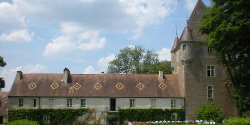 Château de Corabœuf - park view