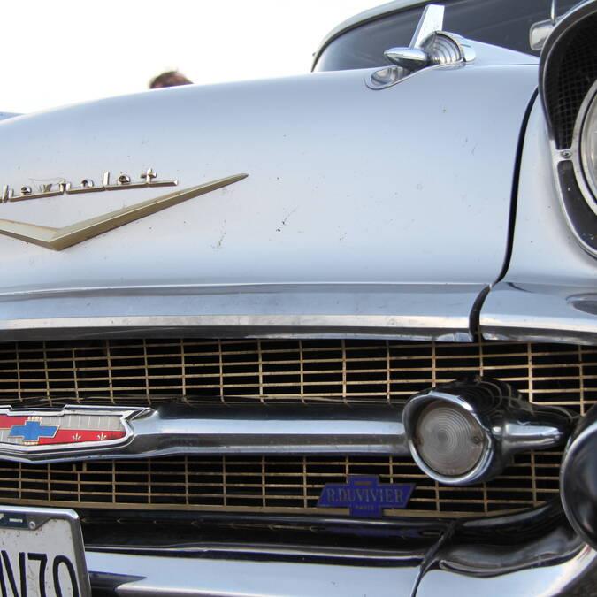 "Chevrolet ""Bel-Air"" © Philippe Gateau"