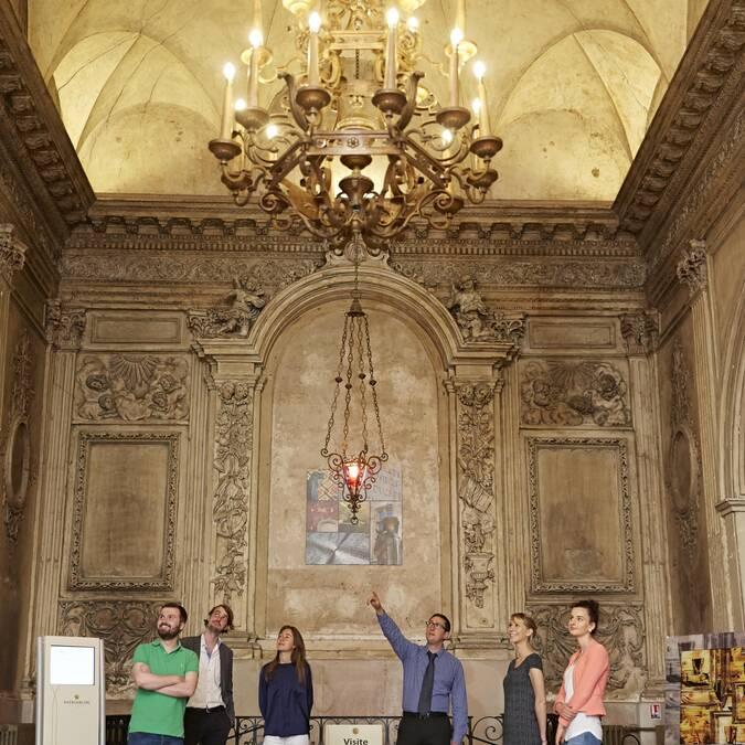 Caves Patriarche Père & Fils, Beaune. Baroque chapel © Studio Piffaut