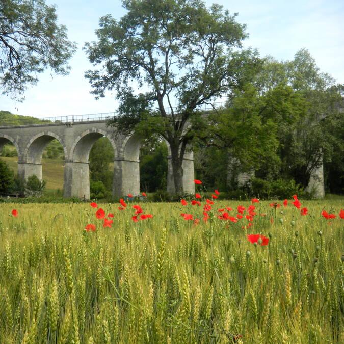 Nolay viaduct © Philippe Gateau