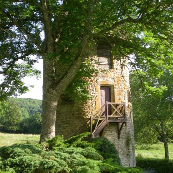 Château de Corabœuf : Tour du Chasseur