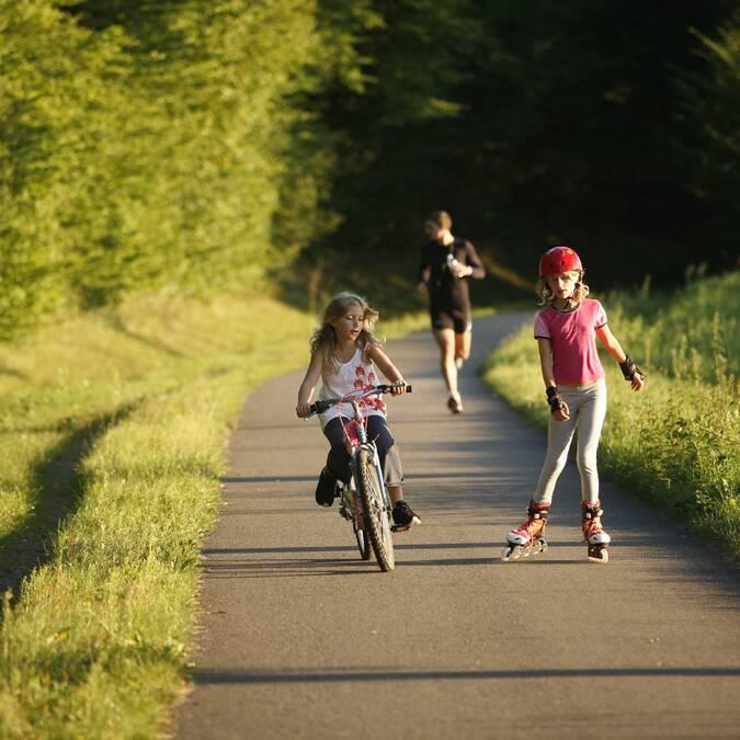 """""""Voie des Vignes"""" Cycle route"""